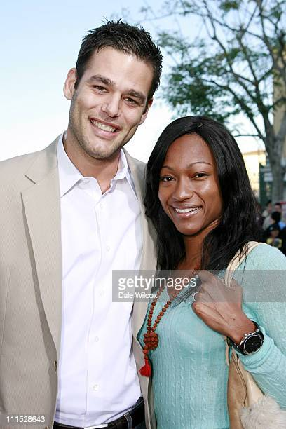 Ivan Sergei and wife Tanya during The Break Up Los Angeles Premiere Red Carpet at Mann Village Theater in Westwood California United States