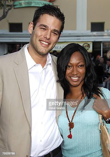 Ivan Sergei and wife Tanya in Westwood California