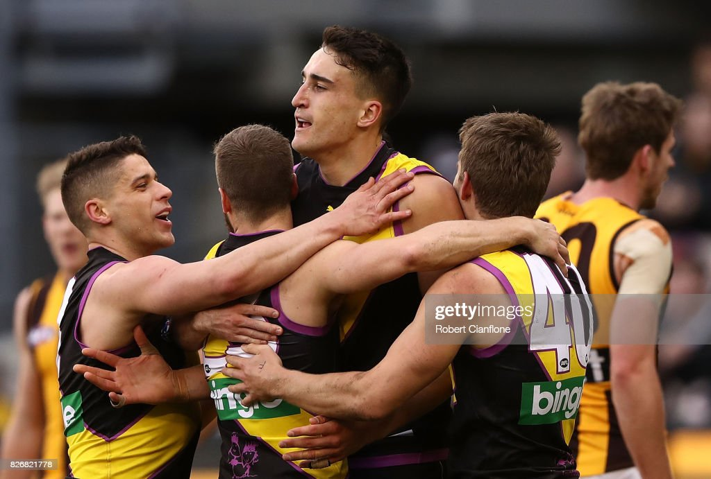 AFL Rd 20 - Richmond v Hawthorn : News Photo