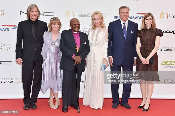 Ivan Suvanjieff Dawn Engle Desmond Tutu Princess Camilla of Bourbon Two Sicilies Prince Charles of Bourbon Two Sicilies and Claudia AbateDebat attend...