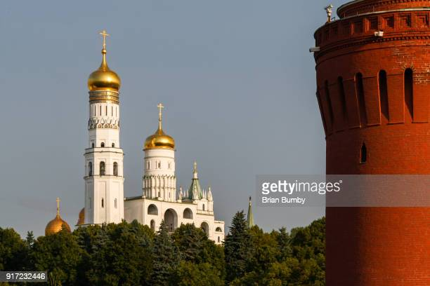 Ivan the Great Bell Tower at the Kremlin, Moscow, Russia