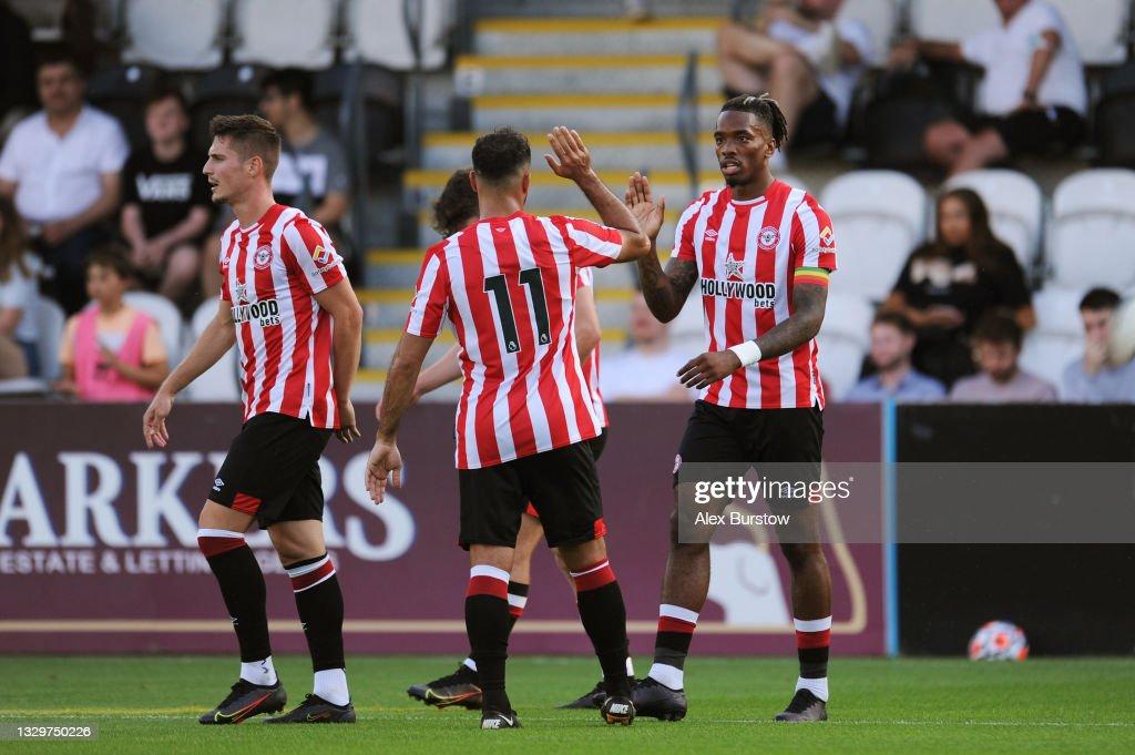 Boreham Wood v Brentford - Pre-Season Friendly : News Photo