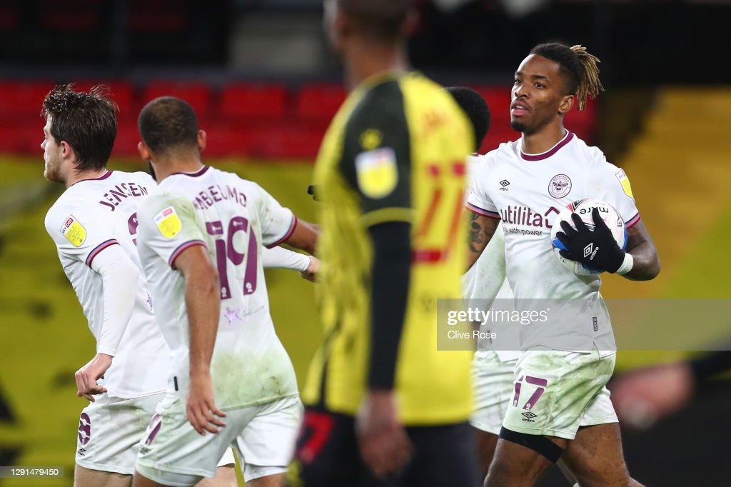 Watford v Brentford - Sky Bet Championship : News Photo