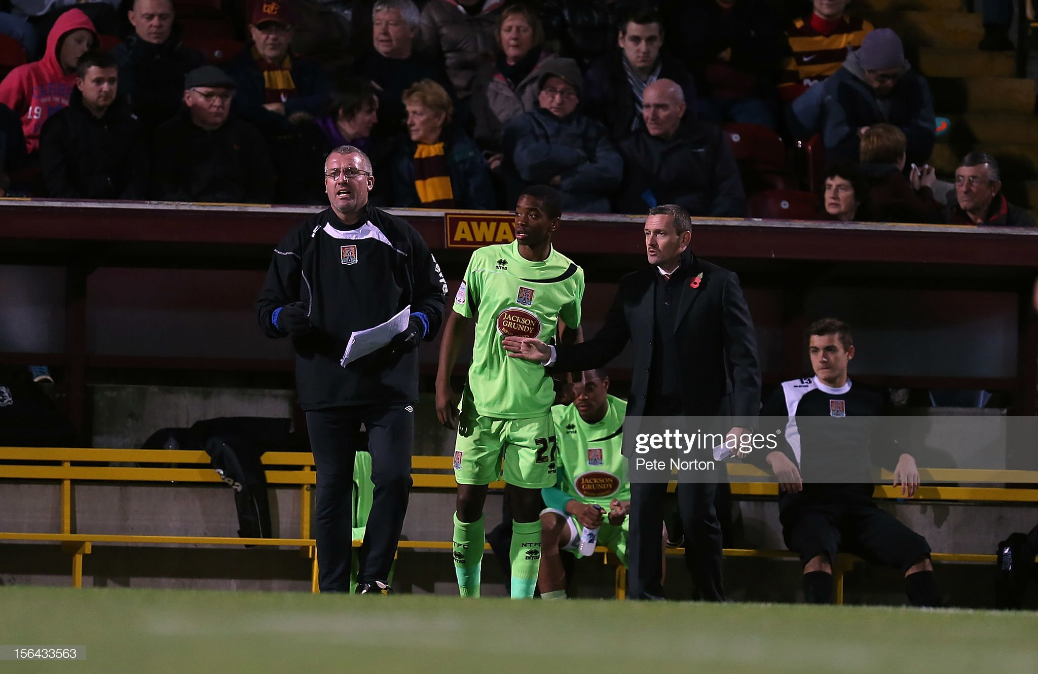 Bradford City v Northampton Town - The FA Cup with Budweiser First Round Replay Ivan Toney  : ニュース写真
