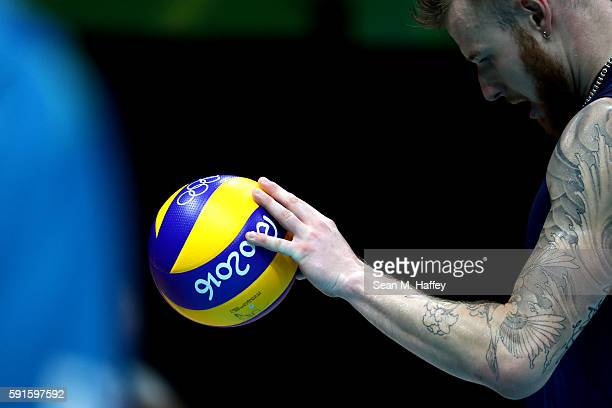 Ivan Zaytsev Volleyball Player Stock Photos And Pictures Getty Images