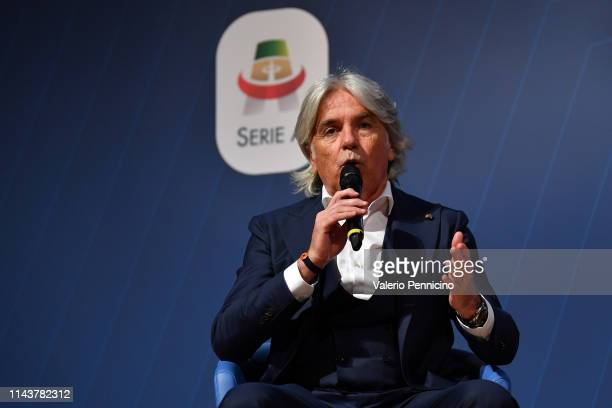Ivan Zazzaroni attends the AWords at Ara Pacis on May 14 2019 in Rome Italy