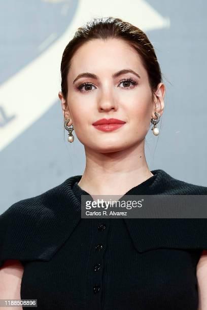 Ivana Baquero attends 'Iris Academia de Television' awards at Nuevo Teatro Alcala on November 18 2019 in Madrid Spain