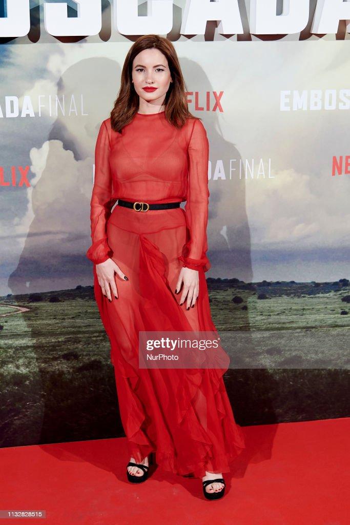 "ESP: Netflix's ""The Highwaymen"" Madrid Premiere"