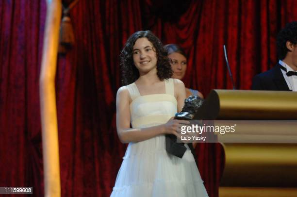 Ivana Baquero during 2007 Goya Awards Ceremony at Palacio de Exposiciones in Madrid Spain