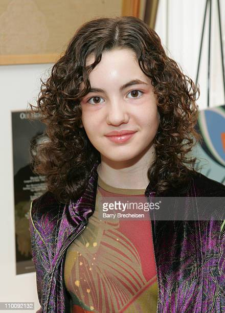 Ivana Baquero during The 2007 Luxury Lounge Presents Marie Claire Fashion Closet Day 4 at Four Seasons in Beverly Hills CA United States
