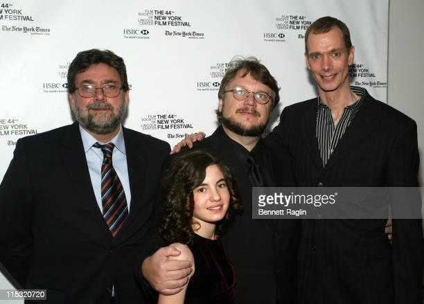 Ivana Baquero Guillermo Navarro Director of Photography Guillermo del Toro Director and Doug Jones