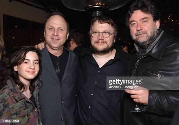 Ivana Baquero Picture House's Bob Berney Guillermo del Toro and Guillermo Navarro
