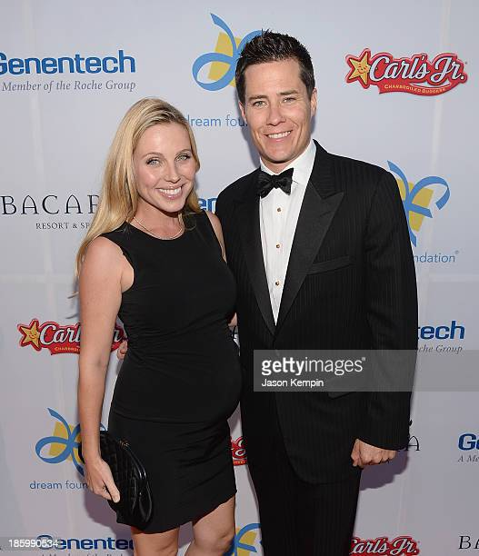 Ivana Bozilovic and Andrew Firestone attend the 12th Annual Celebration Of Dreams Gala at Bacara Resort And Spa on October 26 2013 in Santa Barbara...