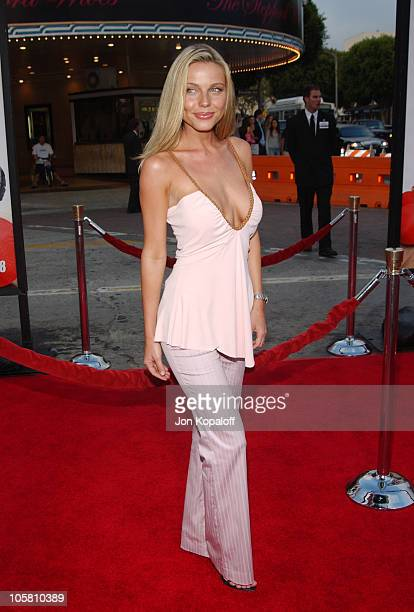 Ivana Bozilovic during DodgeBall A True Underdog Story World Premiere Arrivals at Mann Village Theatre in Westwood California United States
