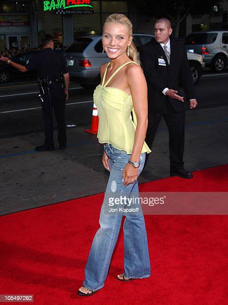 """Ivana Bozilovic during """"Exorcist: The Beginning"""" World Premiere - Arrivals at Grauman's Chinese Theatre in Hollywood, California, United States."""