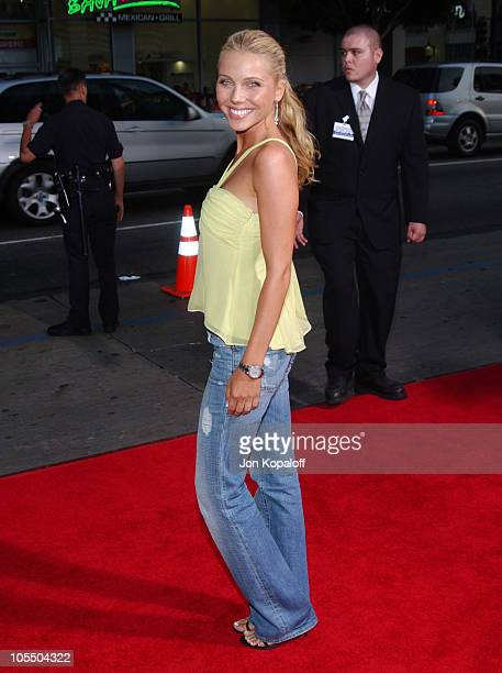 Ivana Bozilovic during Exorcist The Beginning World Premiere Arrivals at Grauman's Chinese Theatre in Hollywood California United States
