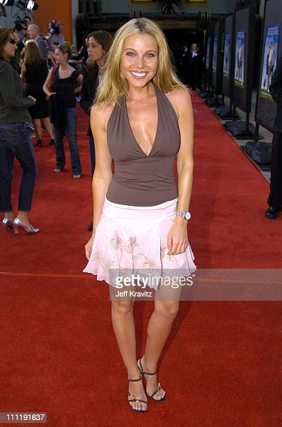 Ivana Bozilovic during HBO's Series Six Feet Under Season Four Los Angeles Premiere Arrivals at Mann's Chinese Theater in Hollywood California United...