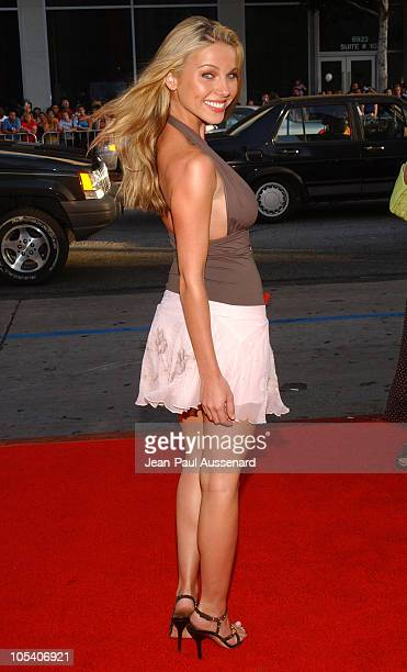 Ivana Bozilovic during HBO's Six Feet Under Fourth Season Los Angeles Premiere at Chinese Theater in Hollywood California United States