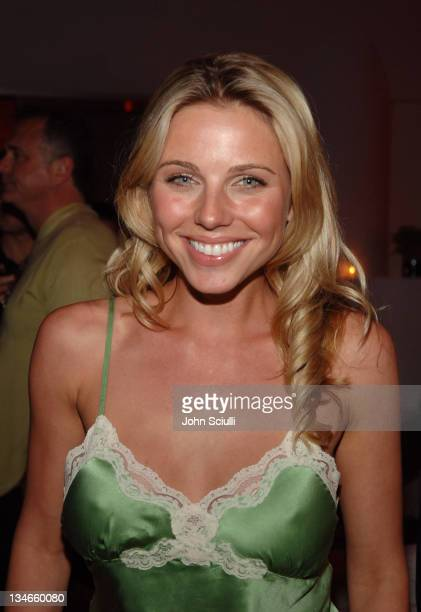 Ivana Bozilovic during Pioneer Electronics Automotive Navigation Systems Launch Party Inside at Montmartre Lounge in Los Angeles California United...