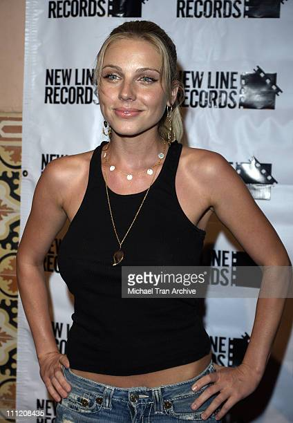 """Ivana Bozilovic during Stuff Magazine's Girls of """"Wedding Crashers"""" CD Release Party at Spider Club in Los Angeles, California, United States."""
