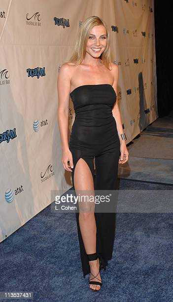 Ivana Bozilovic during Tiger Jam IX Benefit Concert Arrivals at House of Blues in Las Vegas Nevada United States