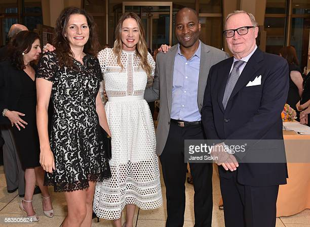 Ivana Delevska Anna Nikolayevsky Donnovan Andrews and Thomas H Lee attend Mostly Mozart Festival Opening Night Gala Celebrating 50 Years of the...