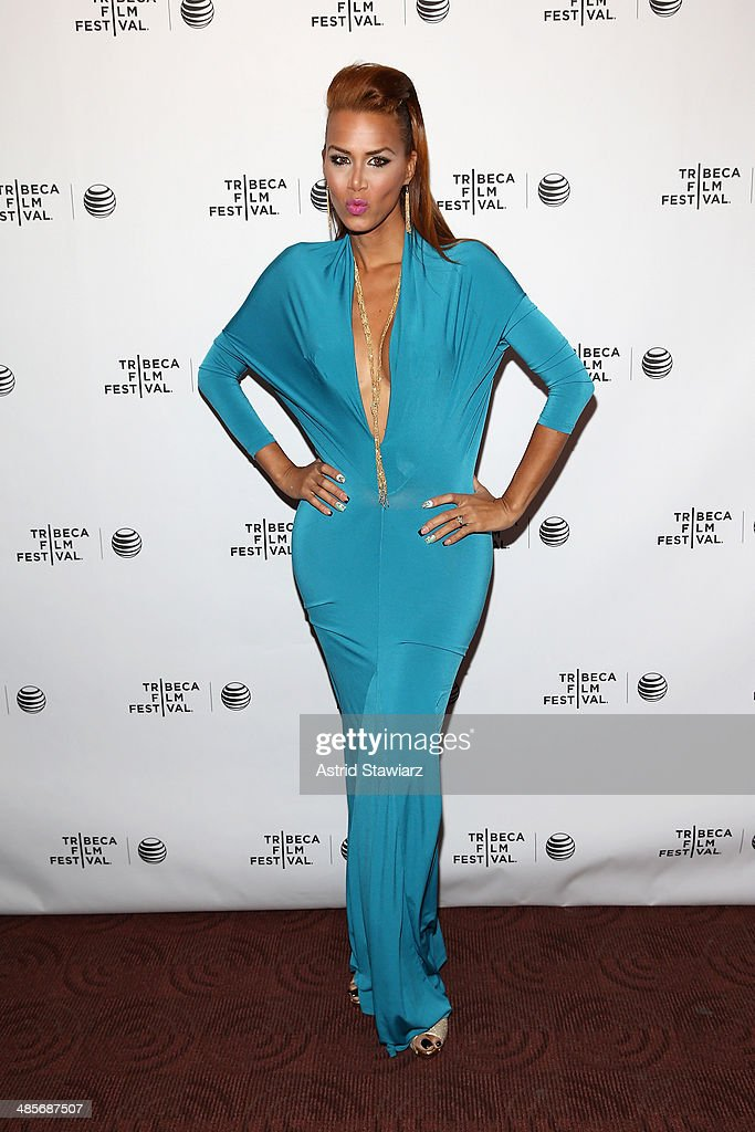 Ivana Fred attends the 'Mala Mala' Premiere during the 2014 Tribeca Film Festival at Chelsea Bow Tie Cinemas on April 19, 2014 in New York City.