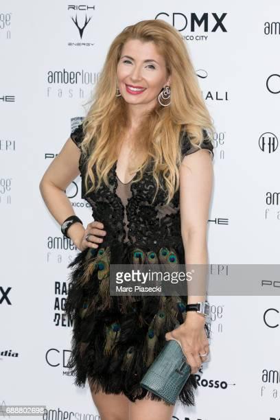 Ivana Ilic Labia attends the Amber Lounge Fashion Monaco 2017 at Le Meridien Beach Plaza Hotel on May 26 2017 in Monaco Monaco