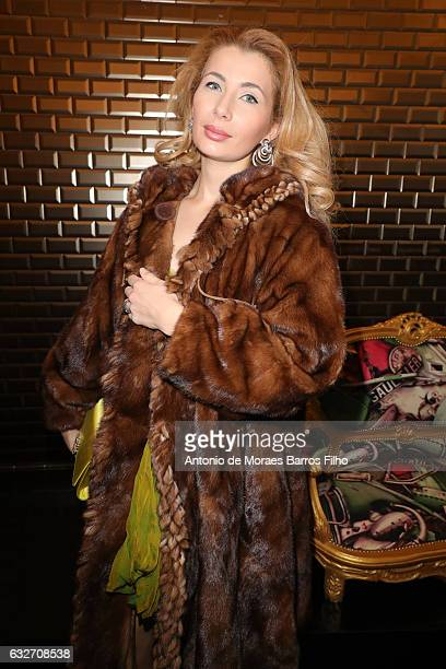 Ivana IlicLabia attends the Jean Paul Gaultier Haute Couture Spring Summer 2017 show as part of Paris Fashion Week on January 25 2017 in Paris France