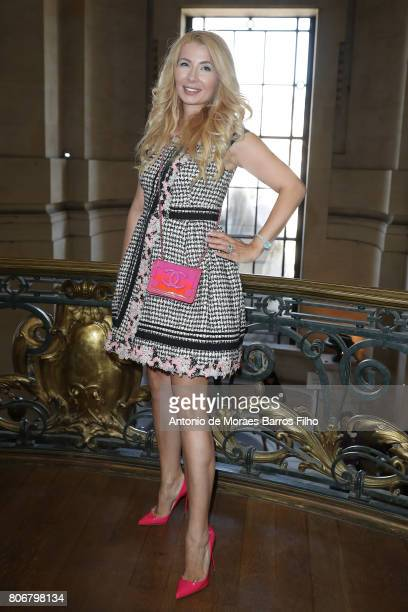 Ivana IlicLabia attends the Ralph Russo Haute Couture Fall/Winter 20172018 show as part of Haute Couture Paris Fashion Week on July 3 2017 in Paris...