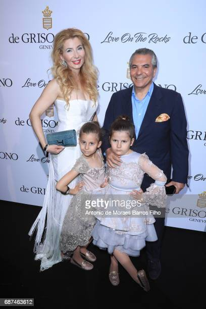 Ivana IlicLabia with the family attends the De Grisogono party during the 70th annual Cannes Film Festival at Hotel du CapEdenRoc on May 23 2017 in...