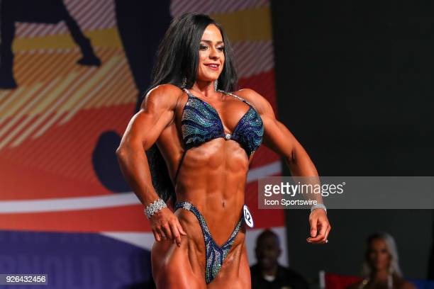 Ivana Ivusic competes in Figure International as part of the Arnold Sports Festival on March 2 at the Greater Columbus Convention Center in Columbus...