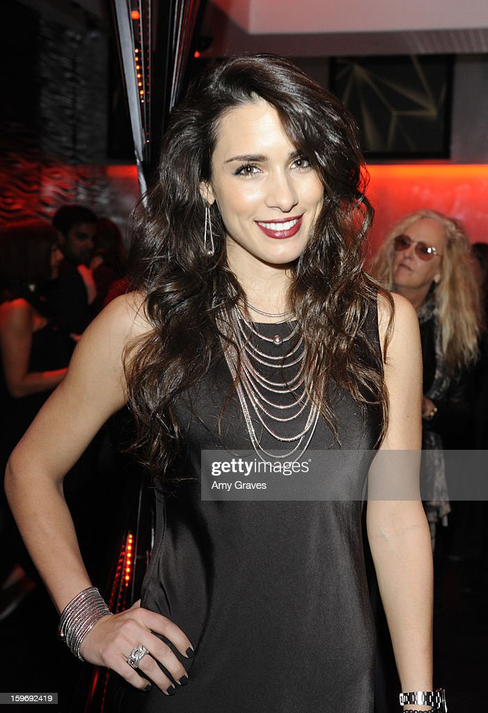 Ivana Korav attends the Beck's Sapphire Launch Event on January 17, 2013 in Beverly Hills, California.
