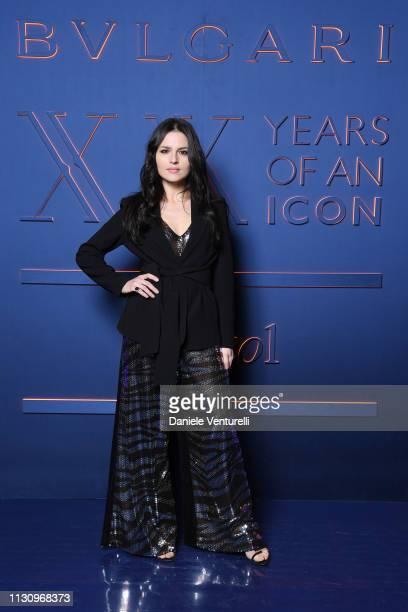Ivana Lotito attends the Bvlgari BZERO1 XX Anniversary Global Launch Event at Auditorium Parco Della Musica on February 19 2019 in Rome Italy