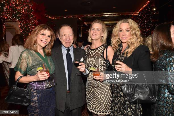 Ivana Lowell Anthony HadenGuest Jeanine Pepler and Anna Rothschild attend A Christmas Cheer Holiday Party 2017 Hosted by George Farias Anne and Jay...
