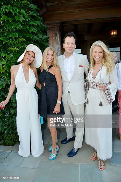 Ivana Lowell Candace Bushnell George Farias and Christie Brinkley attend Tom Diane Tuft and Christina Cuomo Celebrate the Launch of Jay McInerney's...