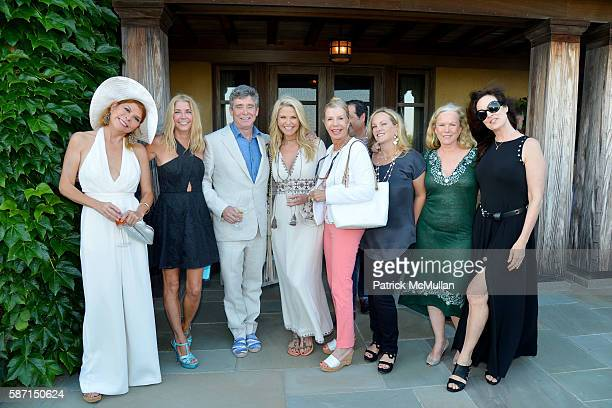 Ivana Lowell Candace Bushnell Jay McInerney Christie Brinkley Princess Yasmin Aga Khan Blaise Labriola Patricia Hearst Shaw Anne Hearst McInerney and...