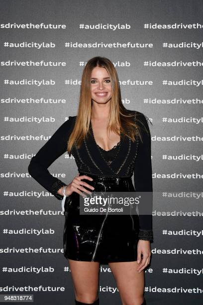 Ivana Mrazova attends Audi City Lab Event on April 18 2018 in Milan Italy