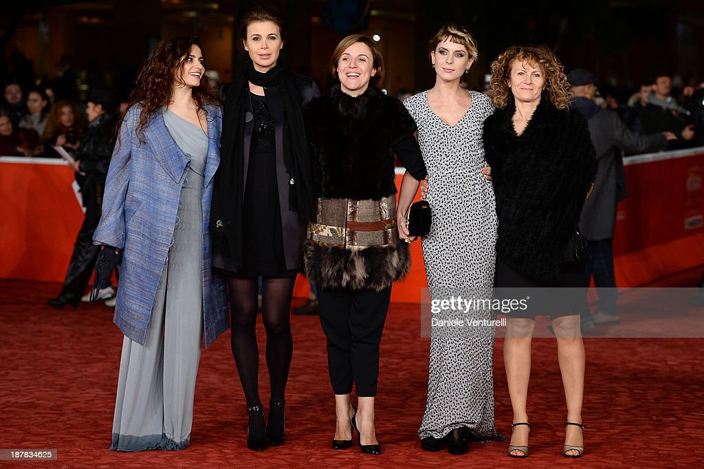 Ivana Pantaleo, Sabrina Colle, Michela Cescon, Elena Radonicich and and guest attend 'Racconti D'Amore' Premiere during The 8th Rome Film Festival on November 12, 2013 in Rome, Italy.