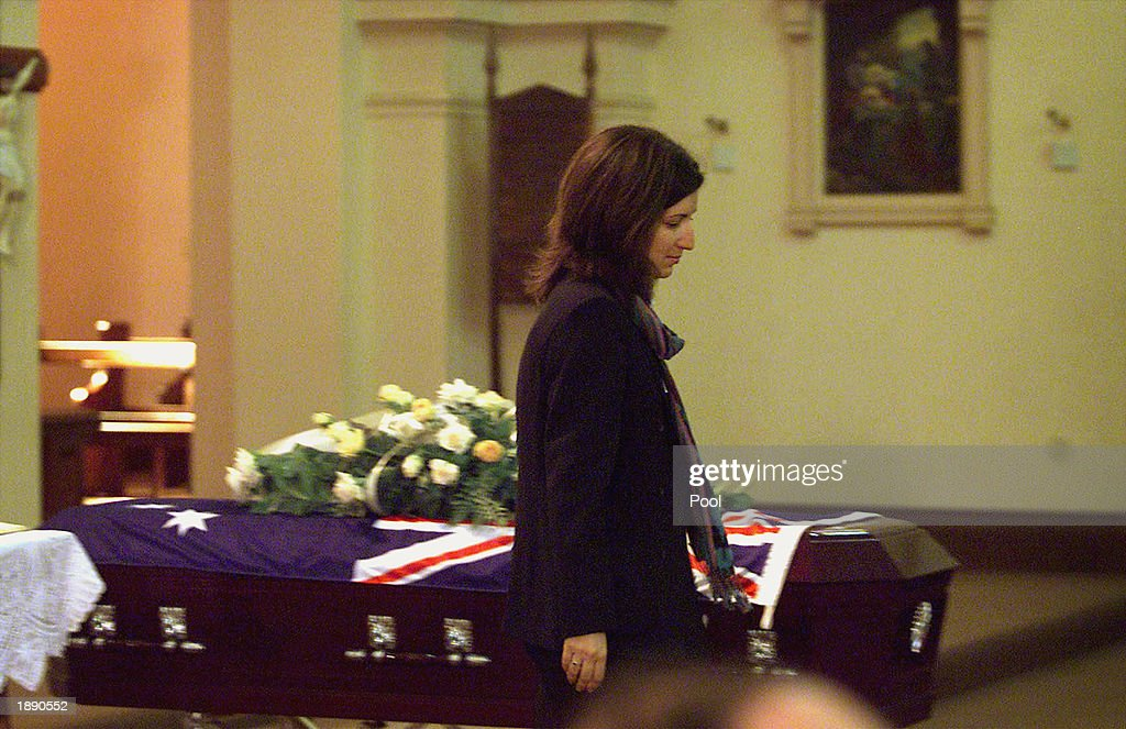 Funeral Of Cameraman Paul Moran : News Photo