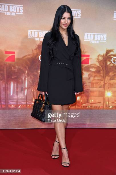 Ivana Santacruz attends the Bad boys for life german premiere at Zoo Palast on January 7 2020 in Berlin Germany