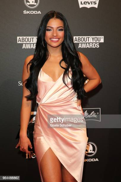 Ivana Santacruz @ ivanasantacruz during the 2nd ABOUT YOU Awards 2018 at Bavaria Studios on May 3 2018 in Munich Germany