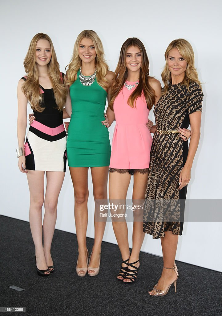 'Germany's Next Topmodel' Photocall : News Photo