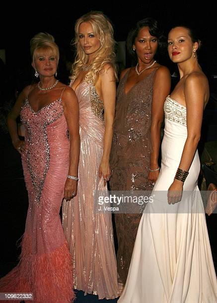 Ivana Trump Adriana Karembeu Kimora Lee Simmons and Petra Nemcova
