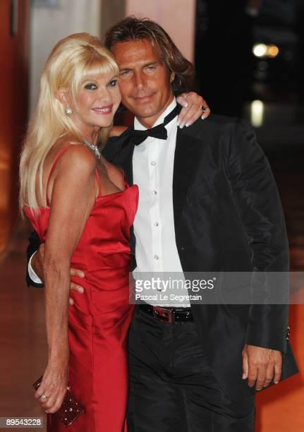 Ivana Trump and boyfriend Antonio Zechila attend the 61st Monaco Red Cross Ball at the Monte Carlo Sporting Club on July 31, 2009 in Monte Carlo,...
