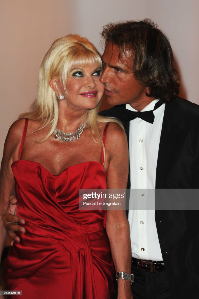 Ivana Trump and boyfriend Antonio Zechila attend the 61st Monaco Red Cross Ball at the Monte Carlo Sporting Club on July 31, 2009 in Monte Carlo, Monaco.