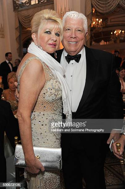 Ivana Trump and Dennis Basso attend FIT's Annual Gala to Honor Dennis Basso John and Laura Pomerantz and QVC at the Grand Ballroom at The Plaza Hotel...