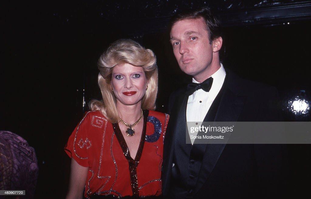 Ivana Trump and Donald Trump - 1989 : News Photo