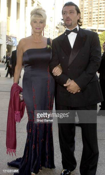 Ivana Trump and guest during American Ballet Theatre 2004 Spring Gala at Metropolitan Opera House Lincoln Center in New York City New York United...