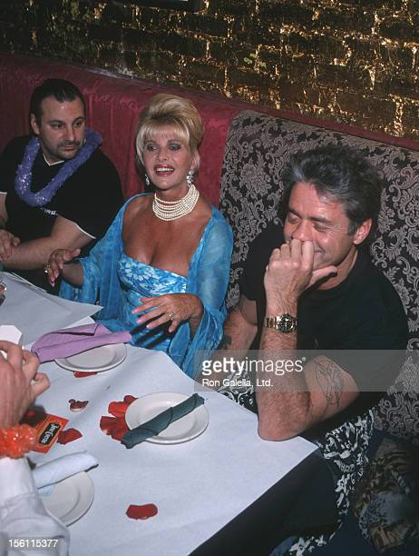 Ivana Trump and Roffredo Gaetani during 2nd Annual Ivana Trump Benefit Auction to Benefit LIFEbeat May 1 2000 at Lucky Cheng's in New York City New...
